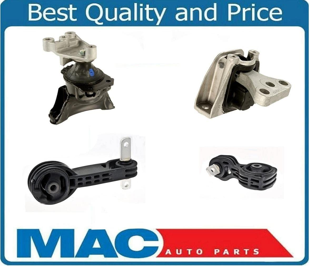 K0682 Front+Right Motor/&Torque Mount Set 4PCS Fits Honda Civic 2.0L 2006-2011