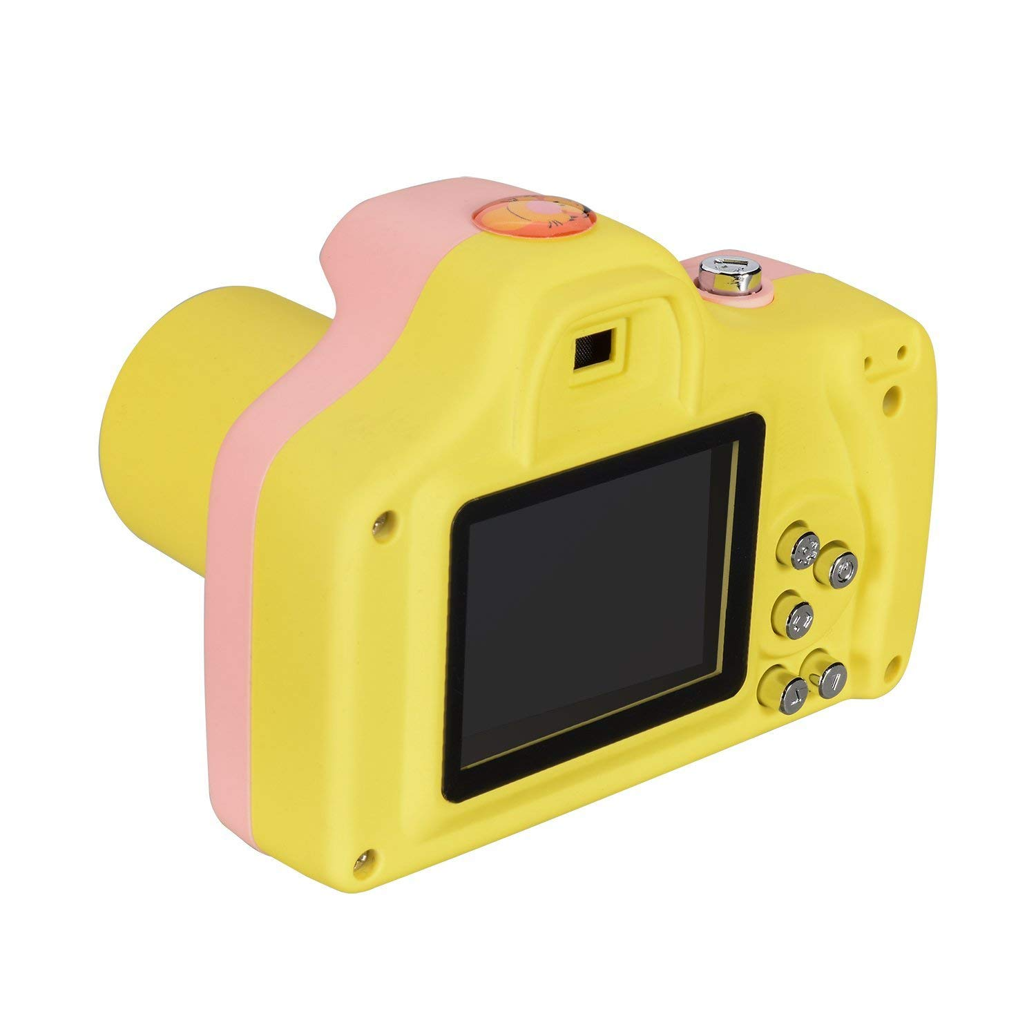 PANNOVO YT001 Mini 1.5 Inch Screen Children Kids Digital Camera with 8GB Cards(Pink) by PANNOVO (Image #3)