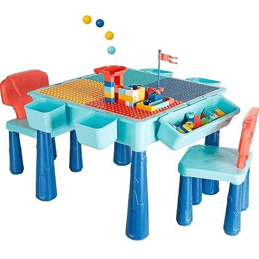 Edificio tabla de bloques del juego Mesa de madera for niños y ...