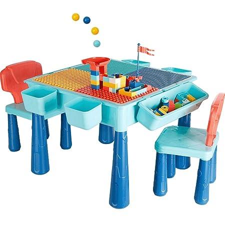 Mesa de actividades de aprendizaje Mesa de madera for niños ...