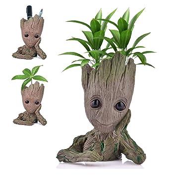 2156a753e015 Udream Baby Groot Maceta - Maravillosa Figura de acción de Guardians of The  Galaxy para Plantas y bolígrafos - Perfecto como Regalo - Soy Groot:  Amazon.es: ...