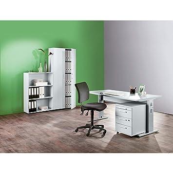 Multi armario de escritorio – H x L x P 1880 x 800 x 330 mm – gris