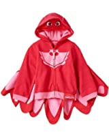 GRACES Toddler Child Animated Show PJ Owlette Red Zip-Up Costume Hoodie