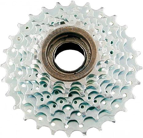 SunRace caja de pedalier 7 V, Bicicleta a rosca, Rapporto 13 – 28 ...