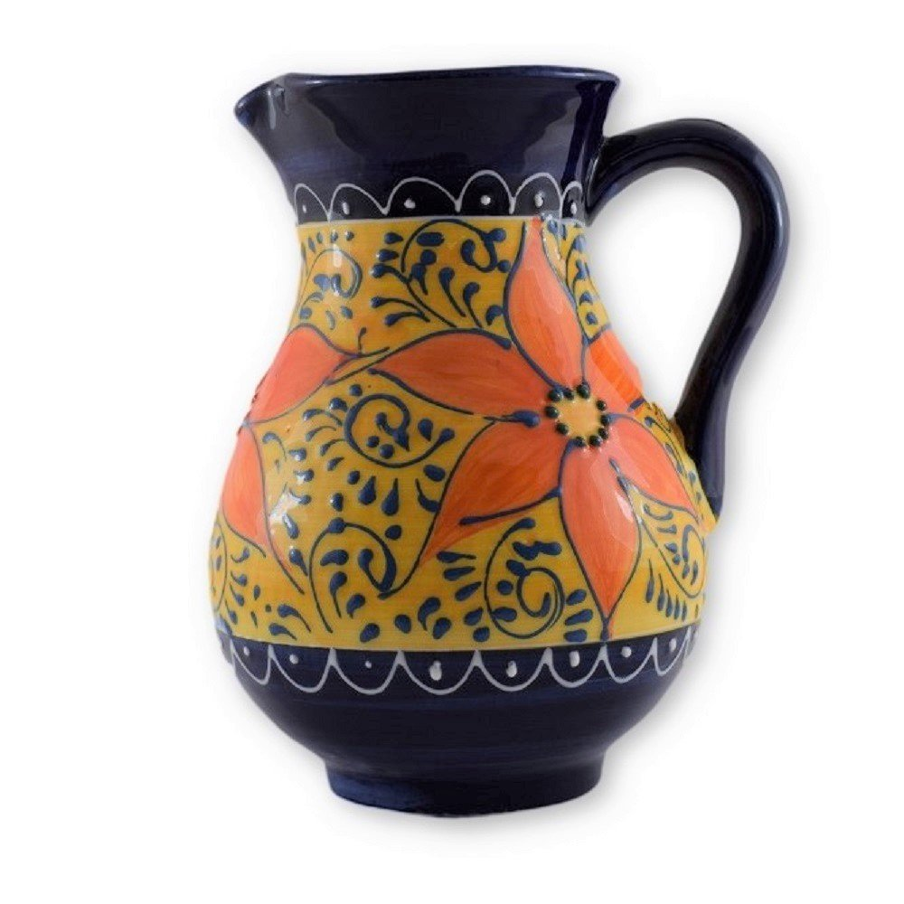 Hand painted Spanish Sangria Jug CPP
