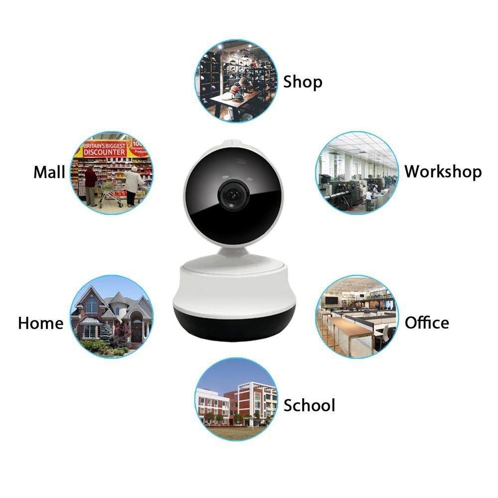 Wifi IP-Kamera Wireless Spy Network Zwei-Wege-Audio mit Tag / Nachtsicht Motion Detection