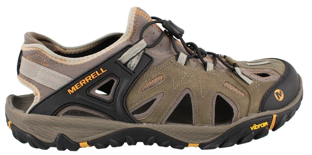 Merrell Men's All Out Blaze Sieve Water Shoe, Brindle/Butterscotch, 10.5 M US