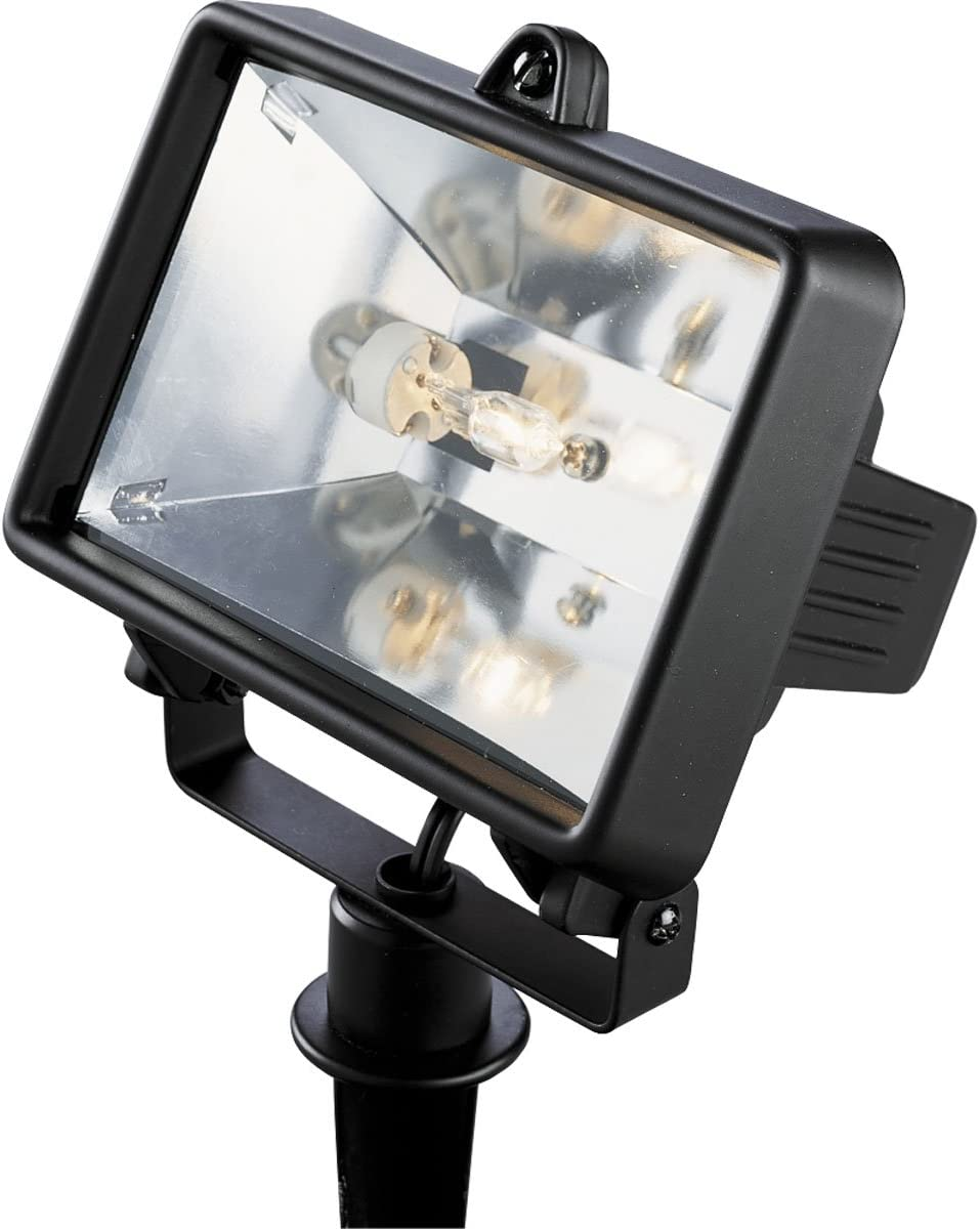 Progress Lighting P5239-31WB Traditional One Landscape Flood Light Collection in Black Finish, 3.50 inches, 5-1 4-Inch Width x 6-Inch Height