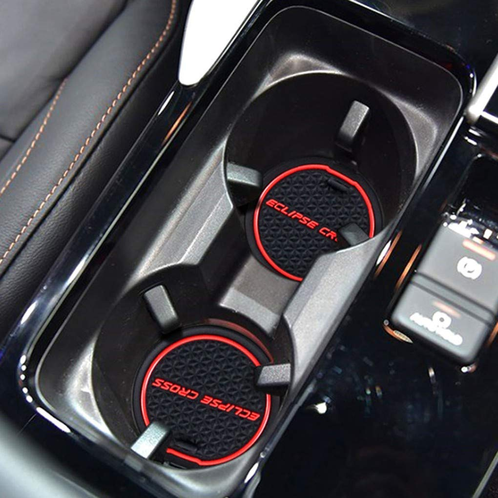 Set Porte Fente Pad Int/érieur de Voiture Porte-Porte Coupe Groove Nonslip Mat Remplacement pour Mitsubishi Eclipse Cross fgyhty 15pcs