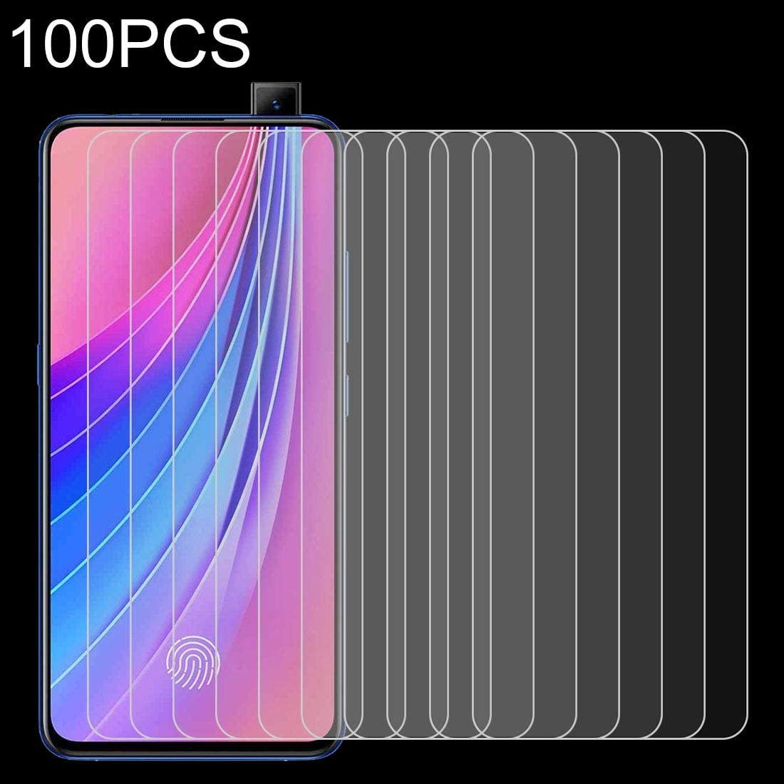 YSH Cell Phone Accessories 100 PCS 0.26mm 9H 2.5D Tempered Glass Film for Huawei P30 Lite Screen Protector for Huawei
