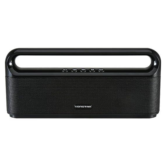 4cd65f930e8 Amazon.com  Konstar Bluetooth Speaker with Enhanced Bass Loud and ...