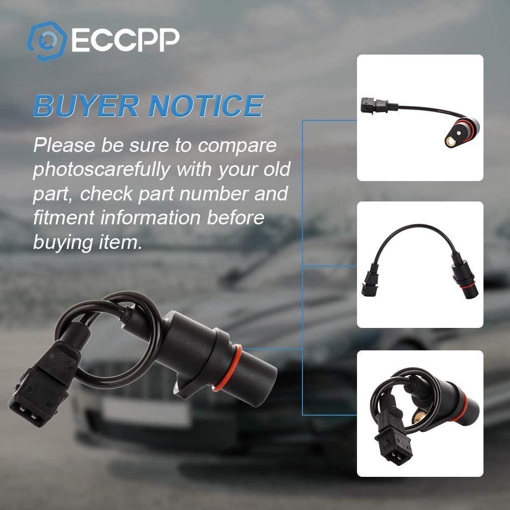 ECCPP Crankshaft Position Sensor Fit for 2006-2010 Dodge Attitude 2006-2011 Kia Rio 2006-2011 Kia Rio5 2000-2011 Hyundai Accent