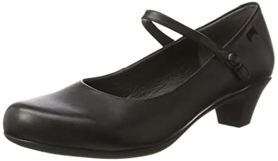 Camper Damen Schuhe Mary-Janes in cleanem Design schwarz