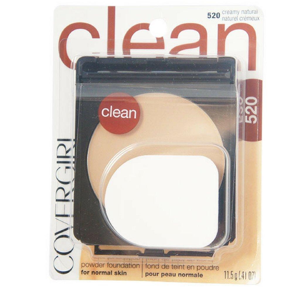 CoverGirl Simply Powder Foundation, Creamy Natural [520] 0.41 oz