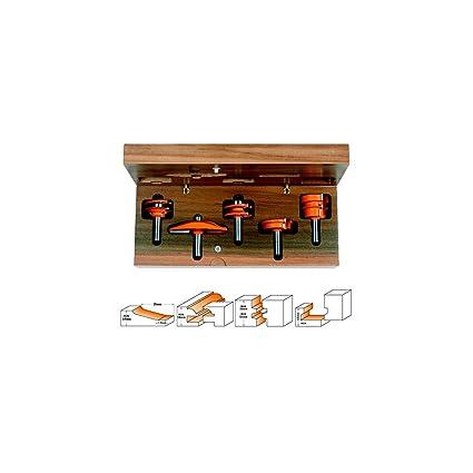 CMT Orange Tools 900.511.11 - Estuche 5 fresas para cocinas ...