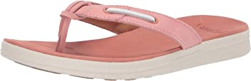 608a4ff3feb Sperry Women s Adriatic Thong Skip Lace Leather Sandal