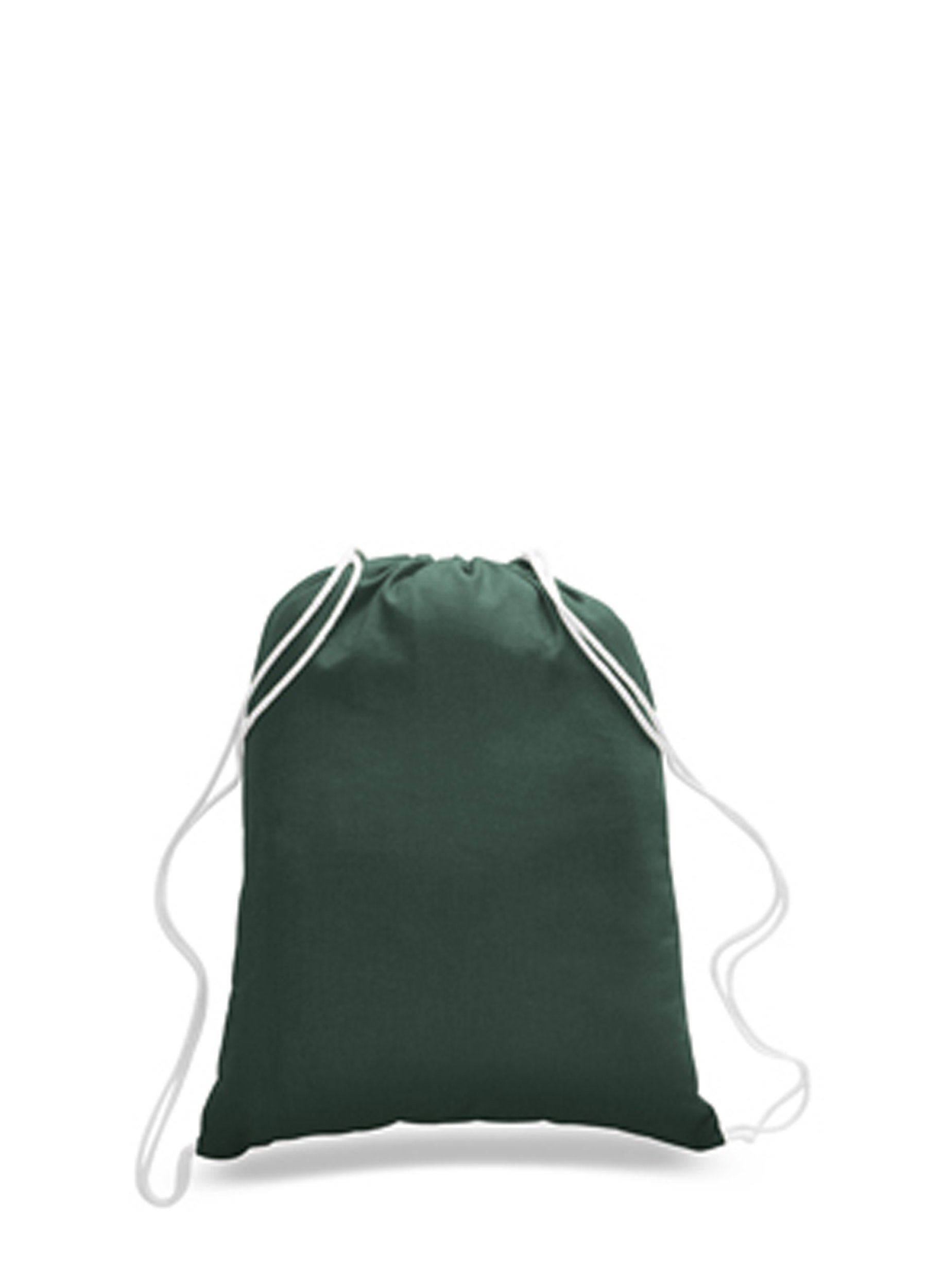 24 Pack Wholesale Apparel Bags 100% Cotton Reusable Eco Friendly Gym Tote Bags Drawstring Bags in Bulk Promotional Give away Quality Drawstring Backpack Bags Cinch Bags Sack Packs (Forest Green)