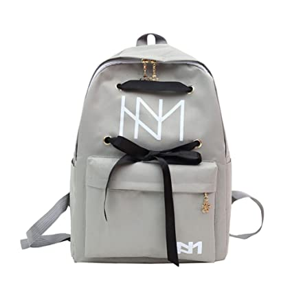 a22ee1155c Amazon.com  Slendima 2018 Fancy Lace Up Bandage Backpack