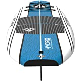 """Scott Burke 10'6"""" Hydro Stand-Up Paddleboard Package, White/Blue"""