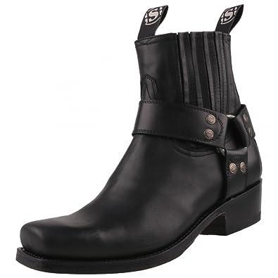 Sendra Boots 2073 Pull Negro Lederstiefel für Damen und