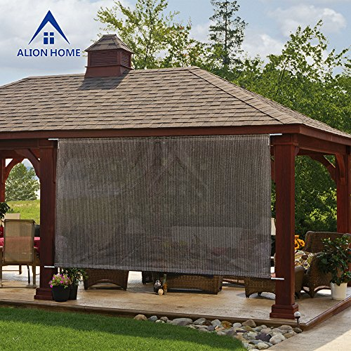 Alion Home Sun Shade Rod Pocket Panel For Patio Awning