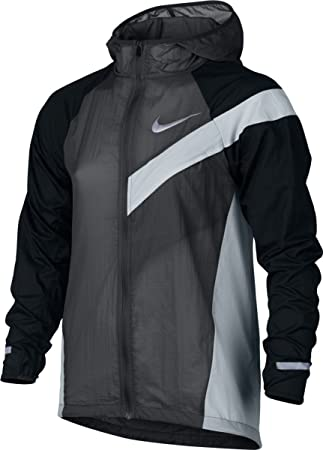 buy popular 4b1d4 5c265 Nike B Nk Jkt Hd Imp Lt Aop Jacket for Boys, Grey (Anthracite