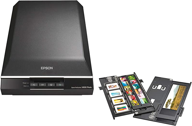 Epson Perfection V600 Color Photo, Image, Film, Negative & Document Scanner 2