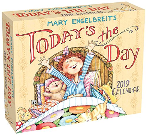 Mary Engelbreit 2019 Day-to-Day Calendar: Today's the Day (Merry Christmas To My Best Friend Card)