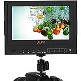 Lilliput 5D-II/O/P PEAKING, ZEBRA, FALSE, COLOR, Moniteur 7 pouces Ecran de prise de vue pour Caméscope DSLR Spécial Canon 5D Mark II HDMI IN et OUT 1024x600p alimentation Sony NP-F Accessoires fournis