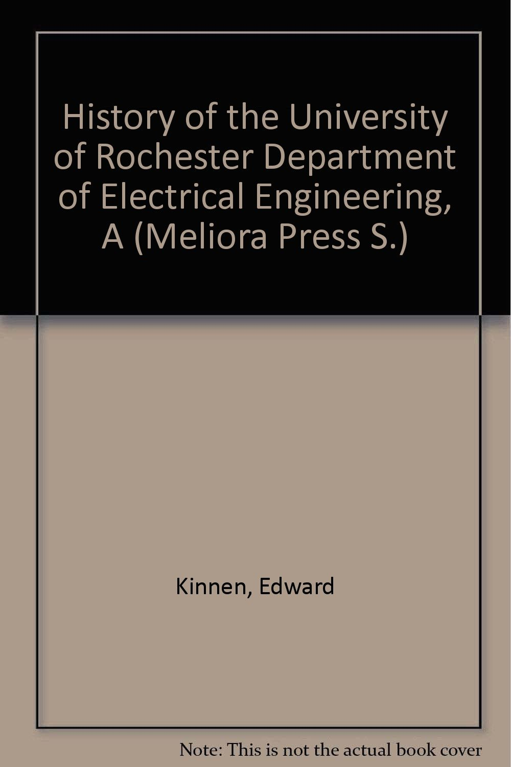 Resonance: Electrical Engineering at the University of Rochester ebook