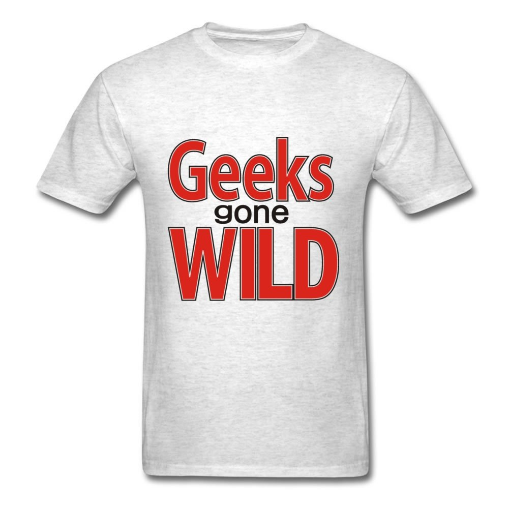 Gray Cool Fashionable Geeks Gone Wild Shirts Xxx-large Men Customized by EdgarPearson
