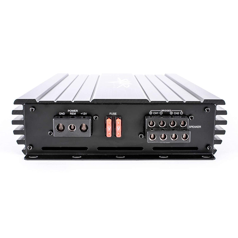 Skar Audio SKv2-100.4AB Full-Range Class A//B MOSFET 4-Channel Car Speaker Amplifier 800W Max Power