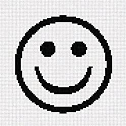 Pointseller Bench Lamppost Needlepoint Canvas