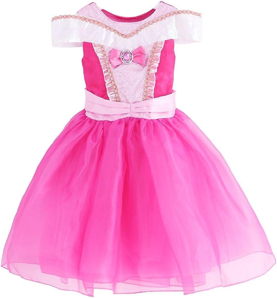 jiaduo New Baby Niña Disfraz de princesa Aurora cosplay ...