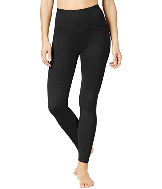 0080ffdb55935 Image Unavailable. Image not available for. Color: 32 DEGREES Women's Cozy  Heat Leggings Black Medium