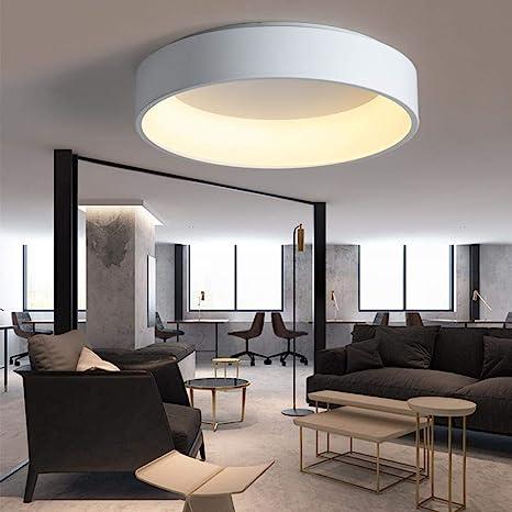 Schwarz/Weiß/Grau Minimalism Moderne LED-Deckenleuchte für ...