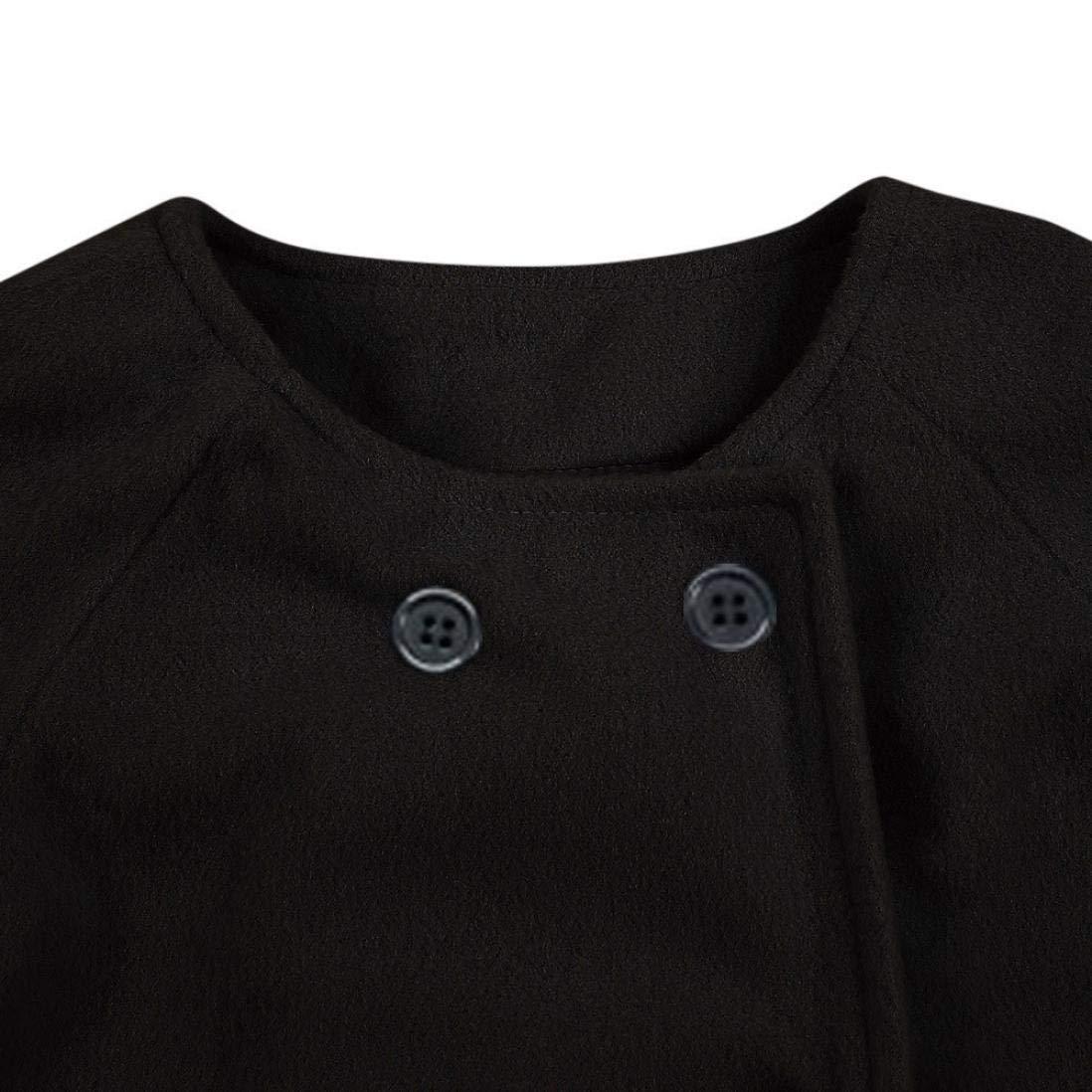 Abrigos beb/é ❤️ Modaworld Oto/ño Invierno Ni/ñas Ni/ños Beb/é Outwear Chaqueta de bot/ón de Capa Ropa de Abrigo Caliente Gruesa Ropa Beb/és 0-5 a/ños
