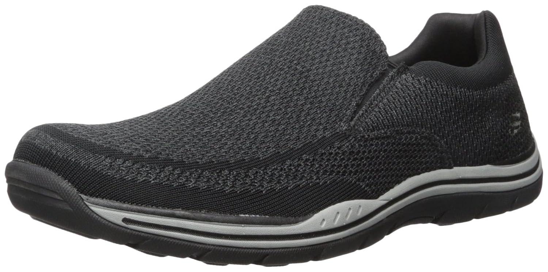 Skechers USA Men's Expected Gomel Slip-On Loafer, Gray, 11.5 M US
