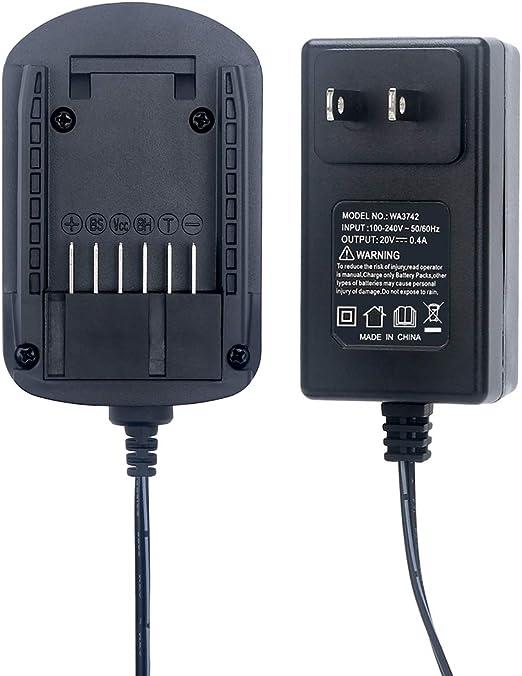Amazon.com: Lasica - Cargador de batería de litio de 20 V ...