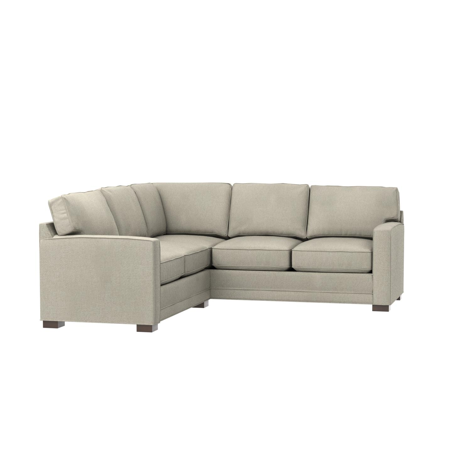 Amazon Stone & Beam Dalton Transitional Sectional Sofa 98 5