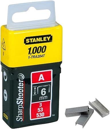 Stanley 1-TRA205-5T Agrafe 8 mm Type A Bo/îte 5000 pi/èces