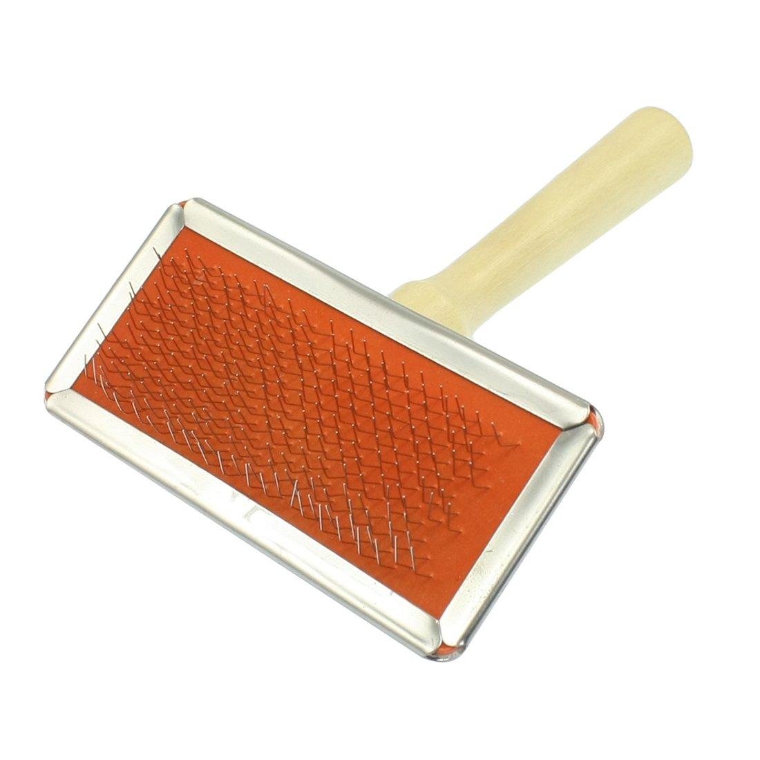 Jardin Wooden Handle Pet Shedding Tool Grooming Hair Brush Comb
