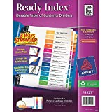 Avery Ready Index Table of Contents Dividers (January - December) SCYpJh, 48 Pack- 12 Tab