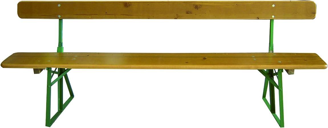 Pircher Tavoli Da Giardino.Pircher Oberland Panca Da Giardino In Legno Con Schienale Bavaria