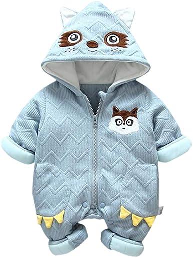 WARMSHOP Thick Sweater Coat Boys Girls Cute Cartoon Bear Long Sleeve Pullover Warm Fleece Blouse T-Shirt
