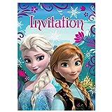 Unique Disney Frozen Invitations, 8-Count