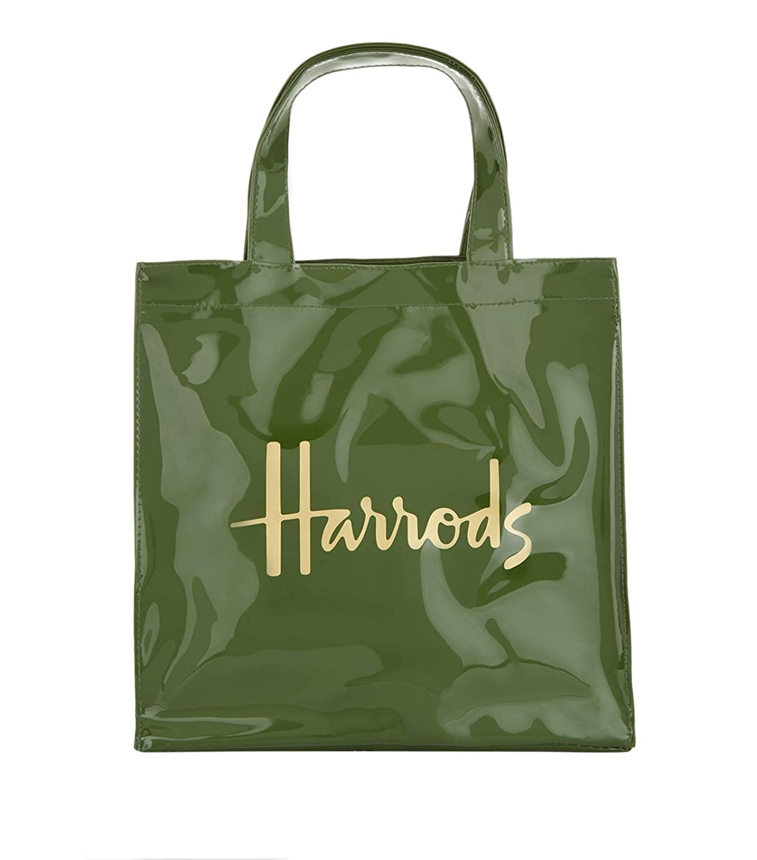 Harrods - Bolso de asas de pvc para mujer Verde Verde S ...
