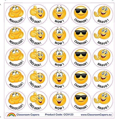 Emoji Adesivi per insegnanti 125/x Champion 28/mm