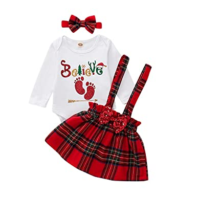 Vectry Navidad Vestido De Niñas Princesa Vestido Bebé Niñas ...