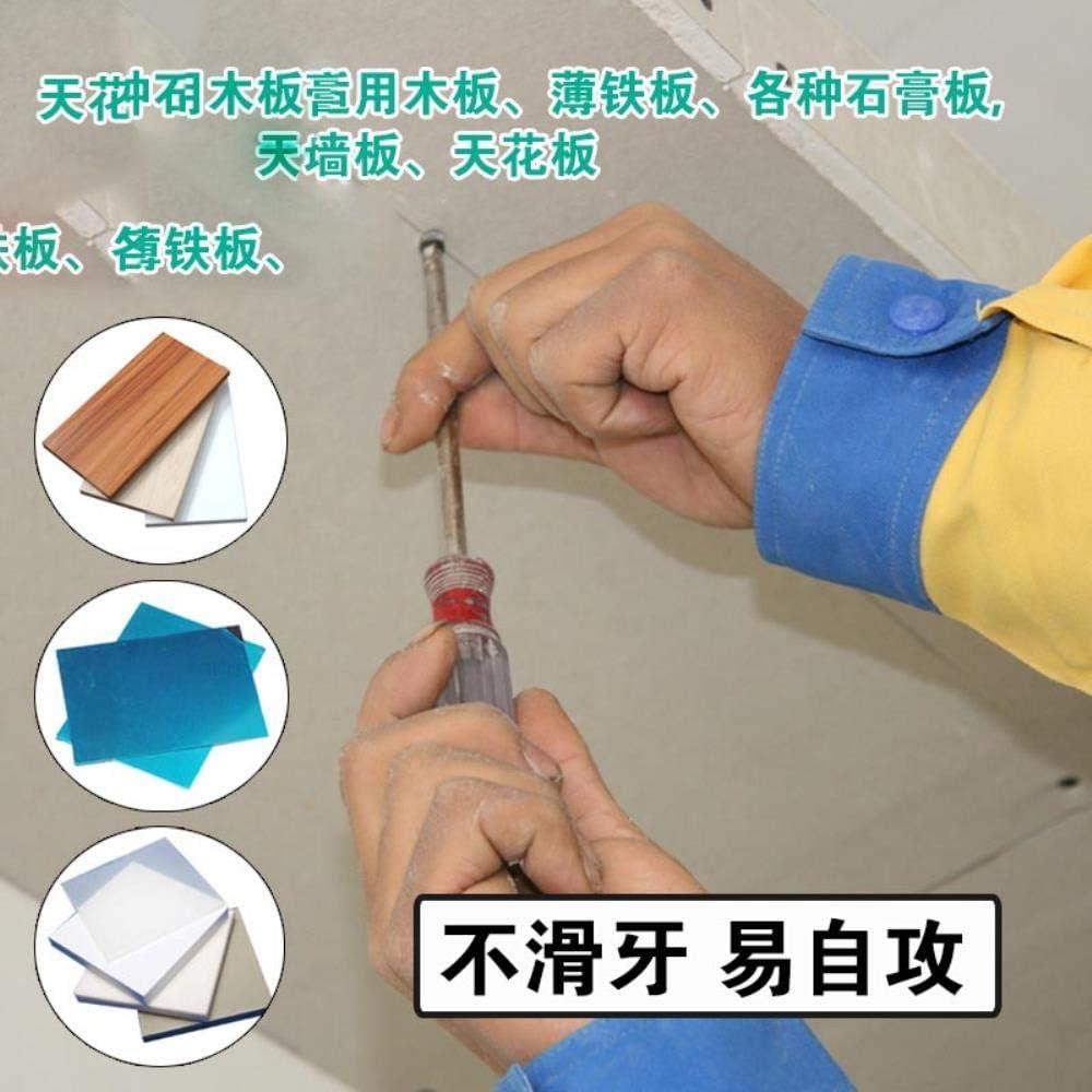 Env/ío gratis 100 piezas de cabeza cruzada y tornillo autorroscante duro m3.5 placa de yeso tornillo v/ástago tornillo autorroscante m3.5 longitud30mm